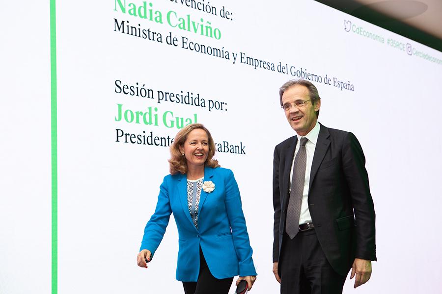 Caroljobe - Eventos Nadia Calviño